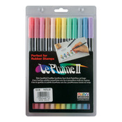 Pastels - Le Plume II Double-Ended Markers 12/Pkg