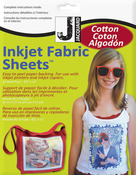 "Ink Jet Fabric Sheets 8.5""X11"" 10/Pkg100% Cotton Percale"