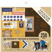 "Vacation Scrapbook Kit 8""X8"" - K & Company"