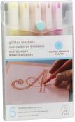 Warm Spectrum - Glitter Markers 4/Pkg