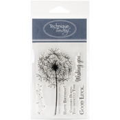 Dandelion - Technique Tuesday Clear Stamps
