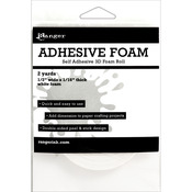Ranger Adhesive White Foam Roll