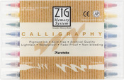 Zig Memory System Calligraphy Dual-Tip Markers 8/Pkg