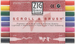 Zig Memory System Scroll & Brush Dual-Tip Markers 8/Pkg