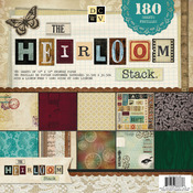 "Heirloom, 60 Designs/3 Each - Paper Stack 12""X12"" 180/Sheets"