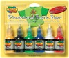 Shiny - Scribbles 3D Fabric Paint 1oz 6/Pkg TULIP- Scribbles Dimensional Fabric Paint is great for all kinds of projects!  Product can be applied to denim, t-shirts, shoes, backpacks, purses, jewelry, frames, lamps, pillows, wood, paper mache, metal, and more!  Simply squeeze paint directly on surface for outlining and personalizing.  Package includes six 1 oz. bottles.  Made in China.
