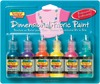 Iridescent - Scribbles 3D Fabric Paint 1oz 6/Pkg TULIP- Scribbles Dimensional Fabric Paint is great for all kinds of projects!  Product can be applied to denim, t-shirts, shoes, backpacks, purses, jewelry, frames, lamps, pillows, wood, paper mache, metal, and more!  Simply squeeze paint directly on surface for outlining and personalizing.  Package includes six 1 oz. bottles.  Made in China.
