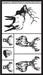 "Wildlife - Rub 'N' Etch Designer Stencils 5""X8"" 1/Pkg"