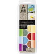 Rainbow - FolkArt Stencil Cream Paint Set 6/Pkg