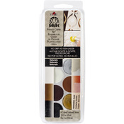 Naturals - FolkArt Stencil Cream Paint Set 6/Pkg