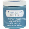 Escape - Americana Chalky Finish Paint DECO ART-Americana Chalky Finish Paint. Paint that creates a unique, chalky, matte finish that gives pieces an old-world, European look and feel. This multi-surface paint is ideal for use on furniture, cabinets, walls, decorative glass, metal and more. Easy to distress. This package contains one 8oz jar of chalky finish paint. Comes in a variety of paint colors. Each sold separately. Conforms to ASTM D 4236. Non-toxic. Made in USA.