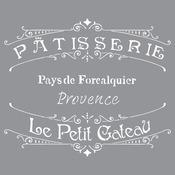The French Bakery - Americana Decor Stencil