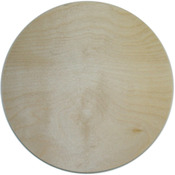 "Circle 10"" - Baltic Birch Plaque"