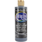 Lamp (Ebony) Black - Americana Acrylic Paint 8oz
