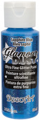 Blue Sapphire - Glamour Dust Glitter Paint 2oz
