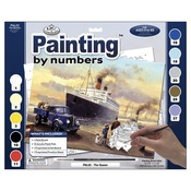 """Queen Departs - Adult Paint By Number Kit 15-3/8""""X11-1/4"""""""