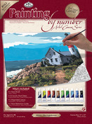 """The Lighthouse - Paint By Number Kits 11""""X14"""""""