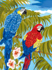 """Parrots - Junior Small Paint By Number Kit 8.75""""X11.75"""""""