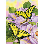 "Swallowtail Butterflies - Junior Small Paint By Number Kit 8.75""X11.75"""