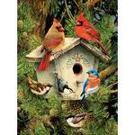 """Native Neighbors - Junior Small Paint By Number Kit 8.75""""X11.75"""""""