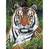"""Tiger In Hiding - Junior Small Paint By Number Kit 8.75""""X11.75"""""""