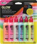 Glow - Tulip 3D Fashion Paints 1.25oz 6/Pkg