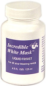 4.5oz - Incredible White Mask Liquid Frisket