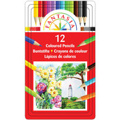 Pro Art Fantasia Colored Pencils 12/Pkg