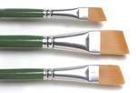 """Angle - 3/8"""", 5/8"""", 3/4"""" - One Stroke Brush Set"""
