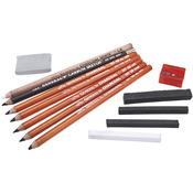 12pc - Charcoal Kit