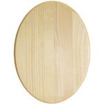 "Pine Oval Plaque - 9""X12"""