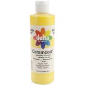 Bright Yellow - Transparent - Ceramcoat Acrylic Paint 8oz