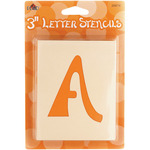 "Swashbuckle Letter 3"" - Mailbox Letter Stencils"