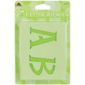 """Genie Letter 2"""" - Mailbox Letter Stencils"""