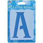 """Genie Letter 4"""" - Mailbox Letter Stencils"""