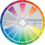 """9.25"""" - Creative Color Wheel"""