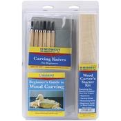 8pcs - Wood Carvers Starter Kit