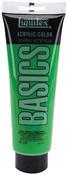 Light Green Permanent - Liquitex Basics Acrylic Paint 8.45oz