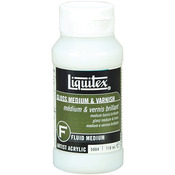 4oz - Liquitex Gloss Acrylic Fluid Medium & Varnish