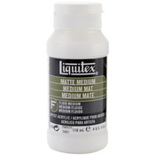 4oz - Liquitex Matte Acrylic Fluid Medium