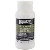 4oz - Liquitex Matte Acrylic Fluid Medium