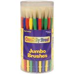 Jumbo Paint Brush Canister 58/Pkg-