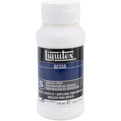 White 4oz - Liquitex Acrylic Gesso Surface Prep