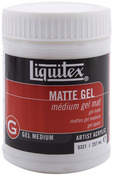 8oz - Liquitex Matte Acrylic Gel Medium