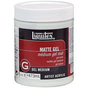 16oz - Liquitex Matte Acrylic Gel Medium