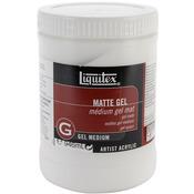 32oz - Liquitex Matte Acrylic Gel Medium