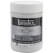 8oz - Liquitex Ceramic Stucco Acrylic Texture Gel