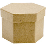8 Each Of 3 Styles - Paper-Mache Boxes Classpack 24pc Assortment
