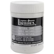 8oz - Liquitex Natural Sand Acrylic Texture Gel