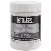 8oz - Liquitex Blended Fibers Acrylic Texture Gel
